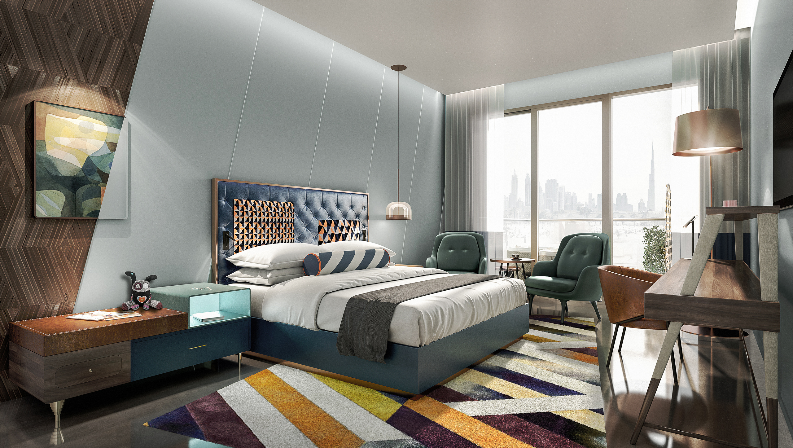 Hotel Andaz in Dubai Rooms