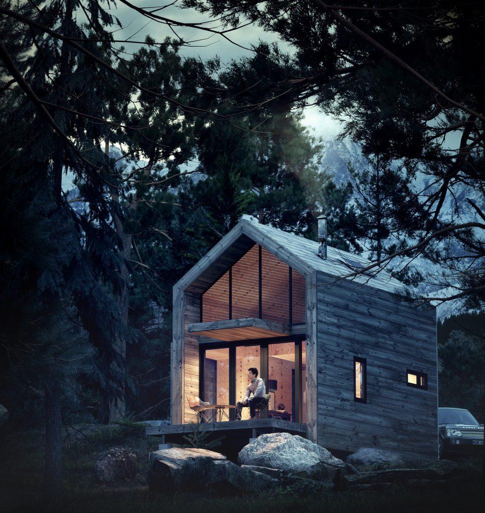 exterior architecture render