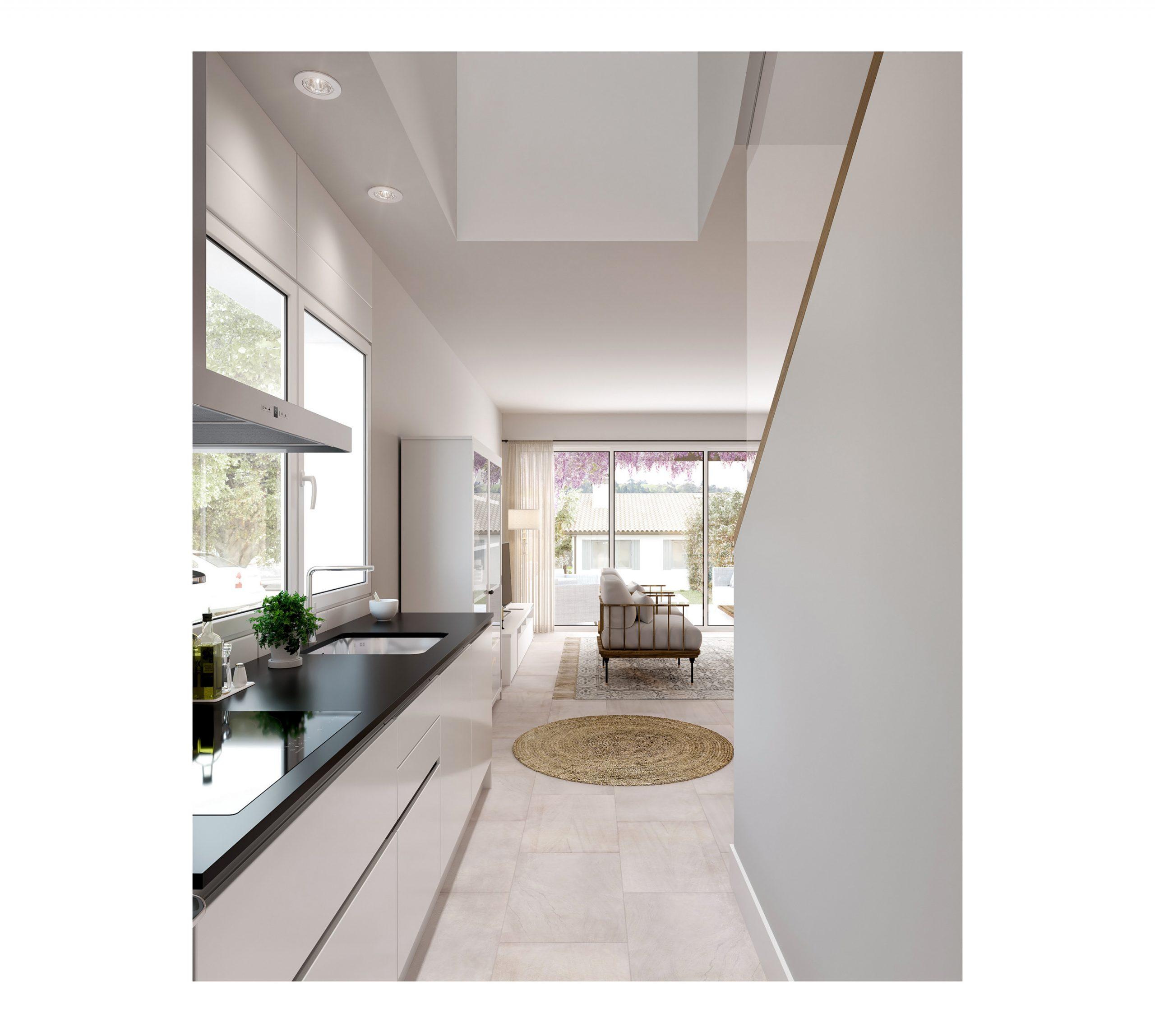 visualización arquitectónica de casa