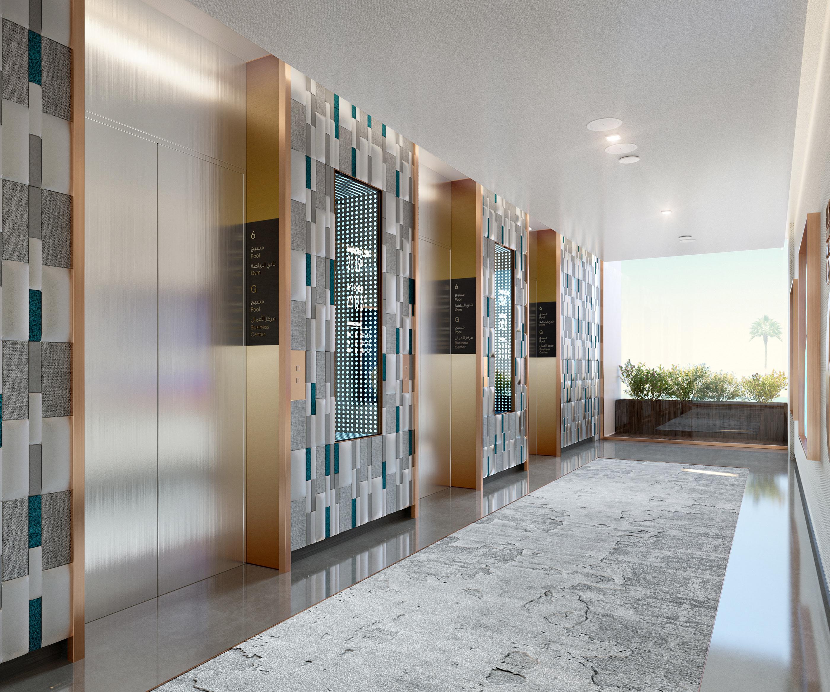 hotel architectural render