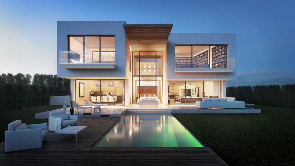photorealism house